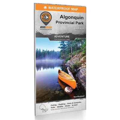 Backroad Mapbooks Backroad Mapbooks Algonquin Park Map 5th Edition