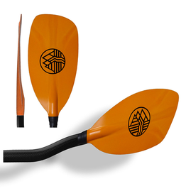 H2O H2O-2 Carbon Bent Shaft WW Paddle
