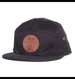 Level Six Level Six Leather Patch 5 Panel Hat
