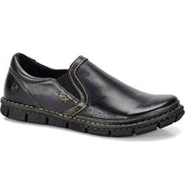 Born Born Sawyer Lea Leather Slip On Shoe Men's