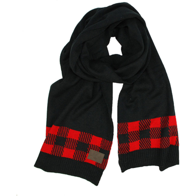 Woolrich Woolrich All Over Buffalo Knit Scarf