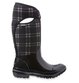 Bogs Bogs Plimsoll Plaid Tall Winter Boot Women's Size 6 Black