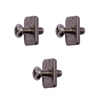 Level Six Level Six Fin Screw + Plates 3 Pack