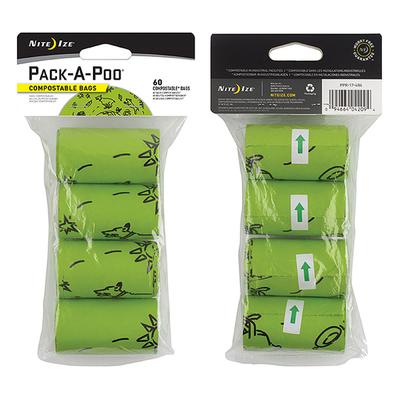 Nite Ize Pack a Poo Bag Biodegradable Refill Bags 4pk