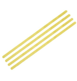 Fischer Fischer Twin Skin Replacement Strips, Mohair Mix, Yellow