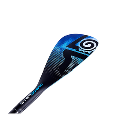 Starboard SUP Starboard Enduro 2 Tiki Tech Hybrid Carbon 3PC Adjustable SUP Paddle, Blue, S35, M