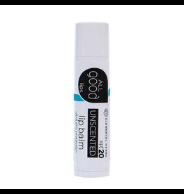 All Good All Good Unscented Lip Balm SPF20