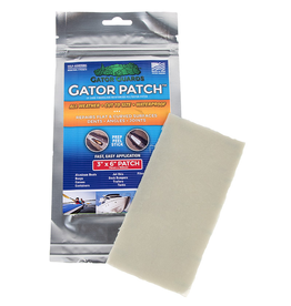 "Gator Guards Gator Patch UV Cure Fiberglass Reinforced Repair Patch 3""x6"""