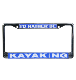 NRS NRS Kayaking License Plate Frame