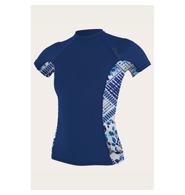 O'Neill O'Neill Side Print S/S Rash Guard Women's