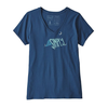 Patagonia Patagonia Live Simply Sleeping Out Organic V-Neck T-Shirt Women's