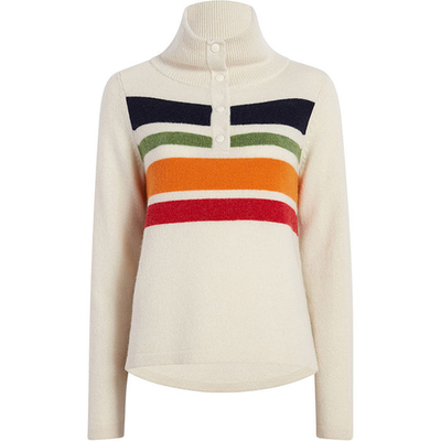 Woolrich Woolrich Snap T Lambswool Sweater Women's