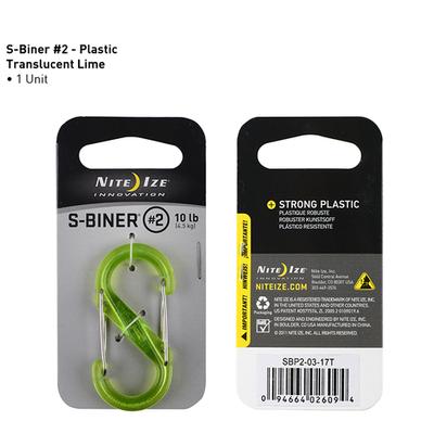 Nite Ize Nite Ize S-Biner Plastic #2