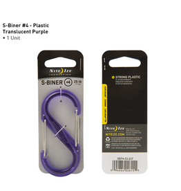 Nite Ize Nite Ize S-Biner Plastic #4