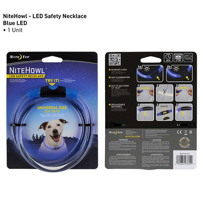 Nite Ize Nite Ize NiteHowl Pet LED Safety Necklace