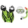 Leader Leader Montego Bay Mask Snorkel Fin Super Kit JR