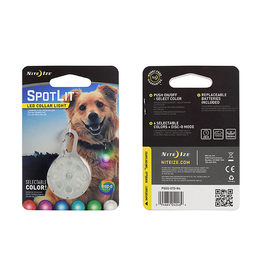 Nite Ize Nite Ize SpotLit Pet LED Collar Light, Disco Select