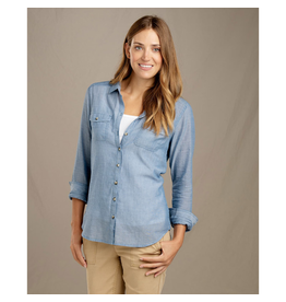 Toad & Co. Toad & Co. Airbrush Long Sleeve Deco Shirt Women's