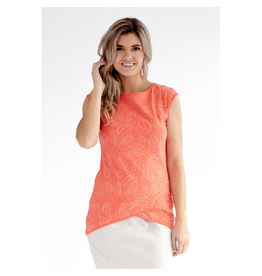 Message Factory Message Factory Mandarine Top Women's