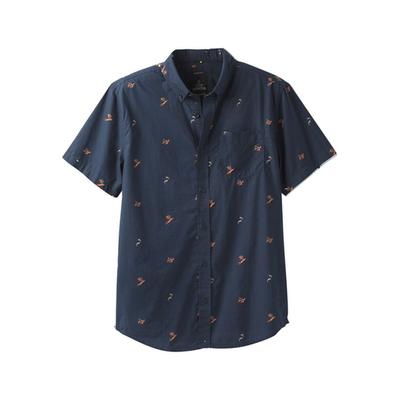 Prana prAna Broderick Slim Short Sleeve Shirt Men's