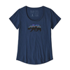 Patagonia Patagonia Fitz Roy Bear Organic Scoop T-Shirt Women's