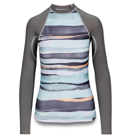 Dakine Dakine Flow Print Snug Fit Long Sleeve Women's Rashguard