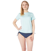 Level Six Level Six Oasis Short Sleeve Loose Fitting Sun Shirt Women's