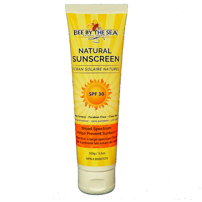 Bee By The Sea Bee By The Sea Natural Sunscreen, 100g/3.5oz