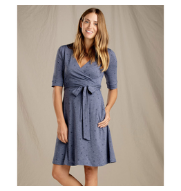 Toad & Co. Toad & Co. Cue Wrap Cafe Dress Women's