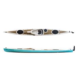 Melker Kayaks Melker Ulvon Flax Composite Kayak w/ Rudder/Skeg
