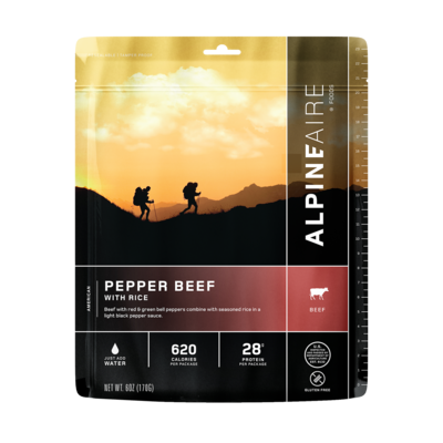 Alpineaire Foods Alpineaire Pepper Beef with Rice
