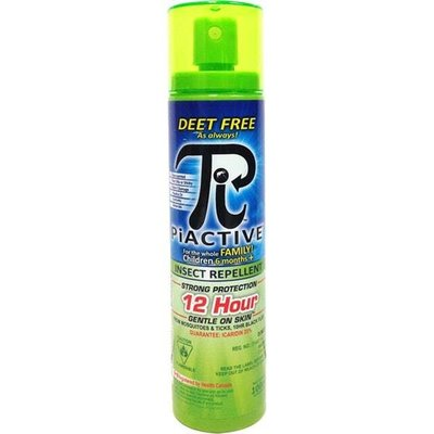 PiActive PiActive Deet Free Travel Sized Insect Repellent Pump Spray 100ml