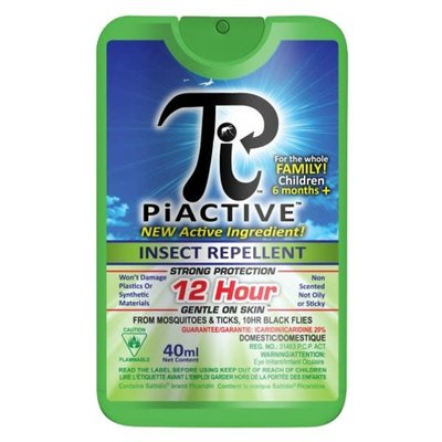 PiActive PiActive Deet Free Insect Repellent Pump Spray 40ml
