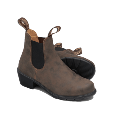 Blundstone Blundstone 1677 Womens Heeled Boot Rustic Brown