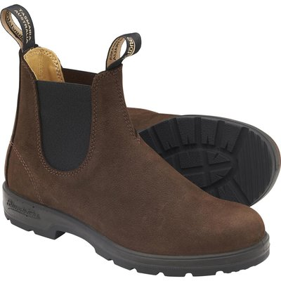 Blundstone Blundstone 1606 Leather Lined  Nubuck Brown