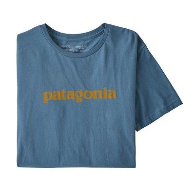 Patagonia Patagonia Text Logo Organic T-Shirt Men's