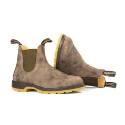 Blundstone Blundstone 1944 Leather Lined Rustic Brown w/Mustard Sole