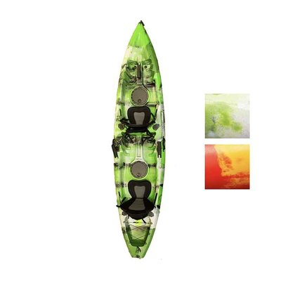 Sunrise Kayaks Sunrise Kayak Tripletail Tandem Sit-on-Top, includes seats