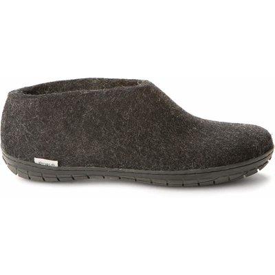 Glerup Glerup Felt Shoe with Black Rubber Sole