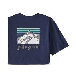 Patagonia Patagonia Line Logo Ridge Pocket Responsibili-Tee Men's