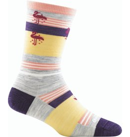 Darn Tough Darn Tough South Beach Lt Wt Crew Sock Women 6025