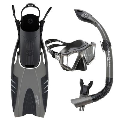 Aqua Lung Aqua Lung Prism Mask, Snorkel & Fin Set