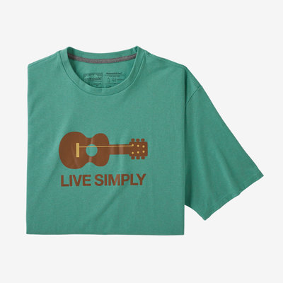 Patagonia Patagonia Live Simply Guitar Responsibili-Tee Men's