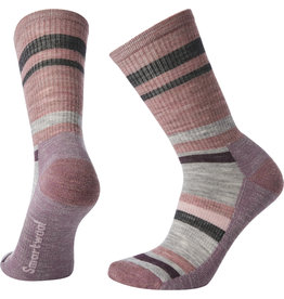 Smartwool Smartwool Striped Hike Light Crew Womens Sock