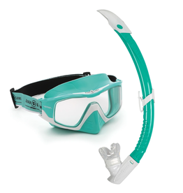 Aqua Bound Aqua Lung Versa Mask Snorkel Combo
