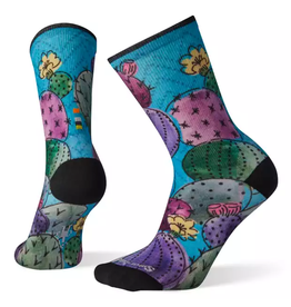 Smartwool Smartwool Curated Cactus and Flowers Print Crew Sock