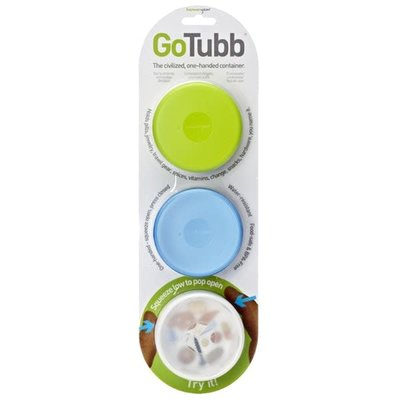 Humangear Humangear GoTubb 3 Pack Mdeium Containers
