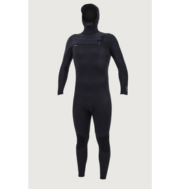 O'Neill O'Neill Hyperfreak 5/4+mm Chestzip Full Wetsuit with Hood Men's