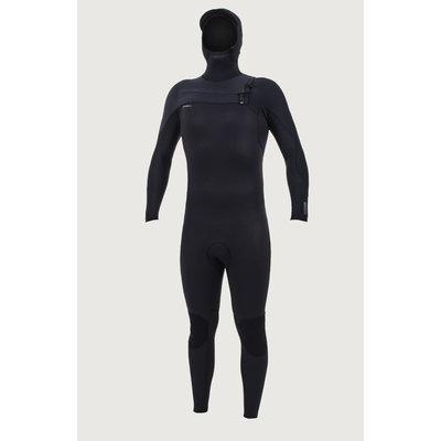O'Neill O'Neill Hyperfreak 5/4+mm Chestzip Full Wetsuit with Hood Men's