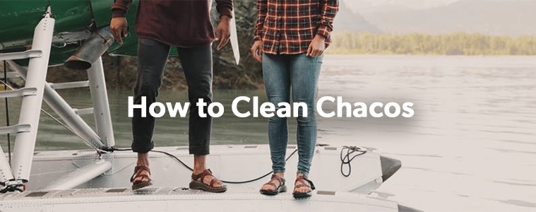 How To Clean Chaco Sandals